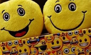 image of emoji faces cat toys
