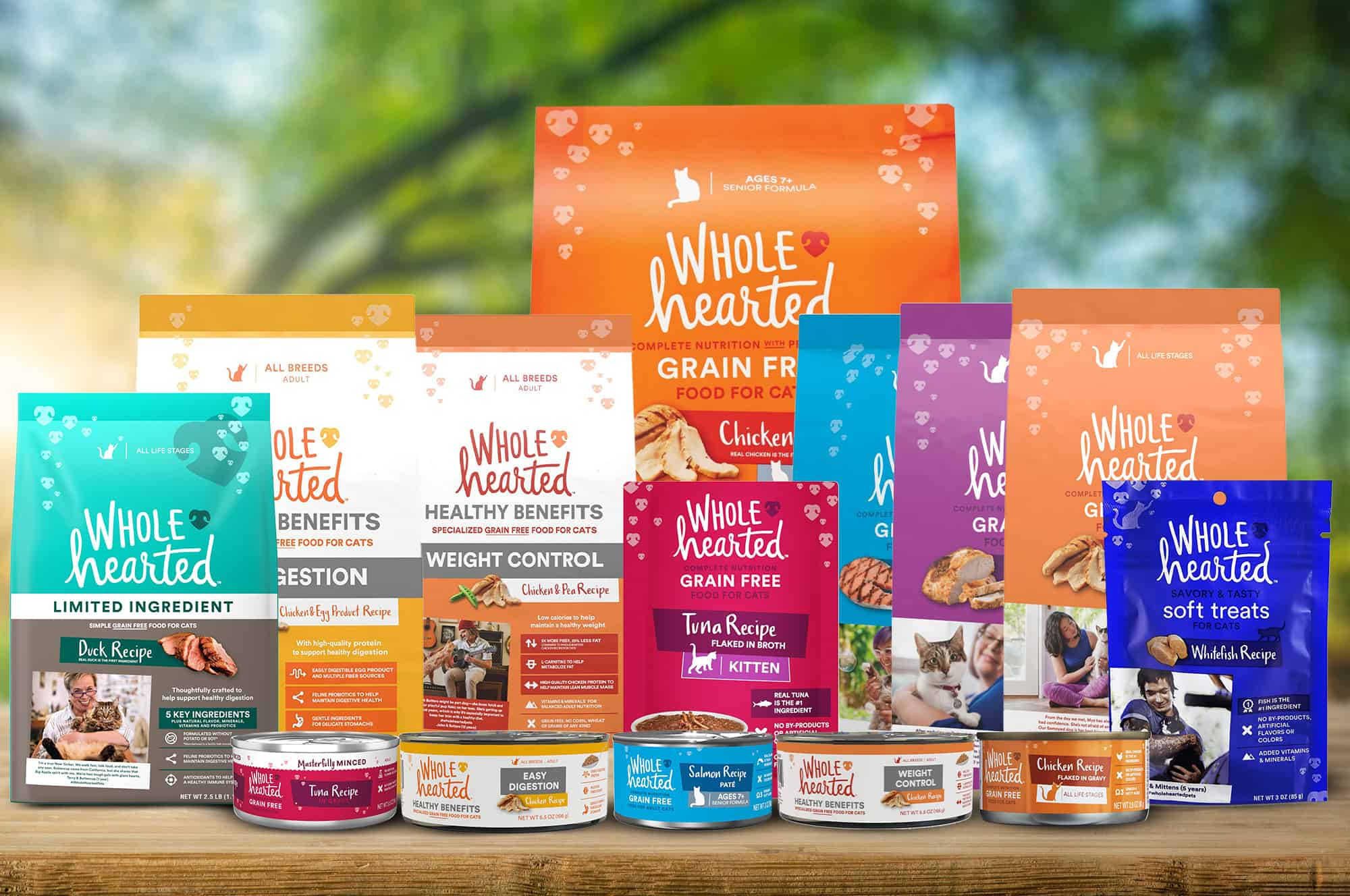 Whole Hearted Cat Foods