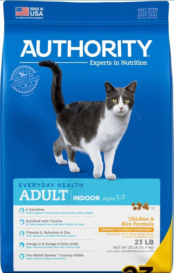 2020 Authority Cat Food Review: Low-cost Quality Food for your Cat 2