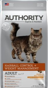 Authority Hairball Control & Weight Management