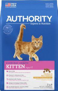 Authority Chicken & Rice Kitten Formula