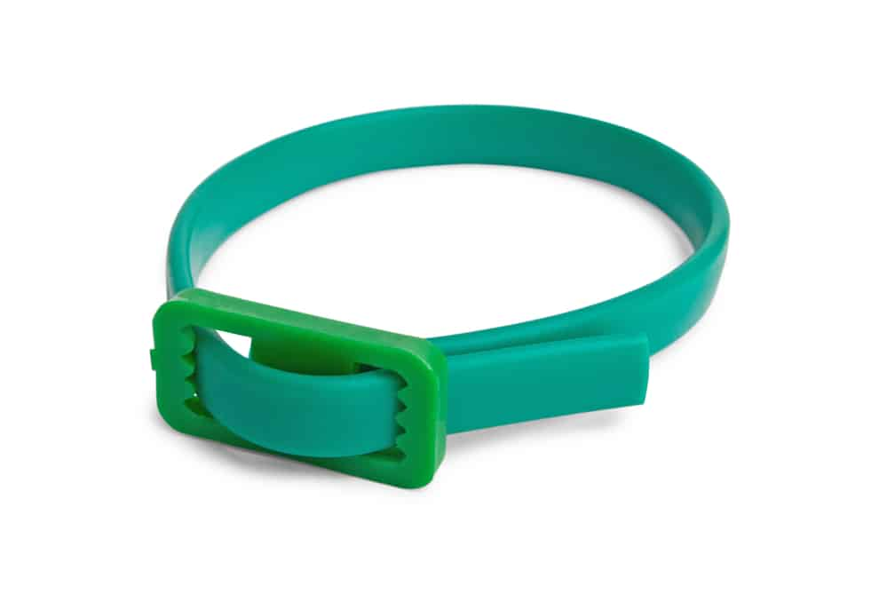 green flea collar