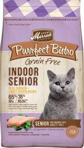 Merrick Purrfect Bistro Grain-free Indoor Senior