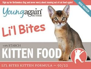 young again kitten food