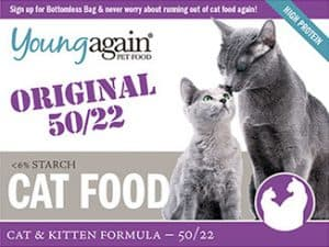 young again cat food