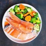 fish with broccoli