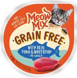 meow mix wet food