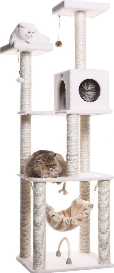 Best Cat Trees For Large Cats - Heavy Duty Big Sturdy Cat Towers [2020] 4
