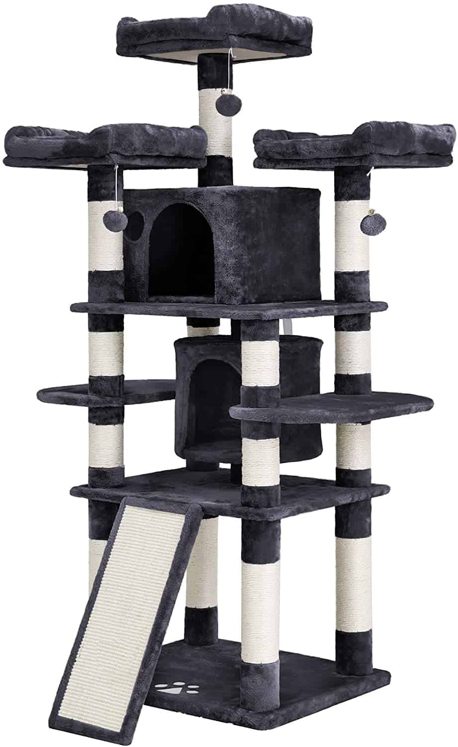 Best Cat Trees For Large Cats - Heavy Duty Big Sturdy Cat Towers [2020] 11