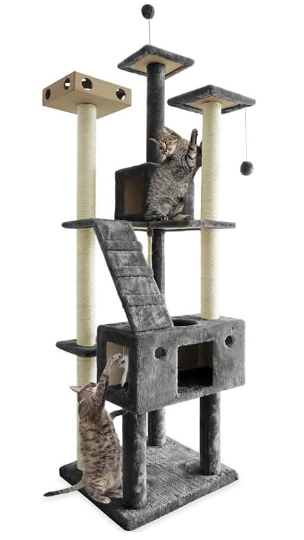 Best Cat Trees For Large Cats - Heavy Duty Big Sturdy Cat Towers [2020] 5