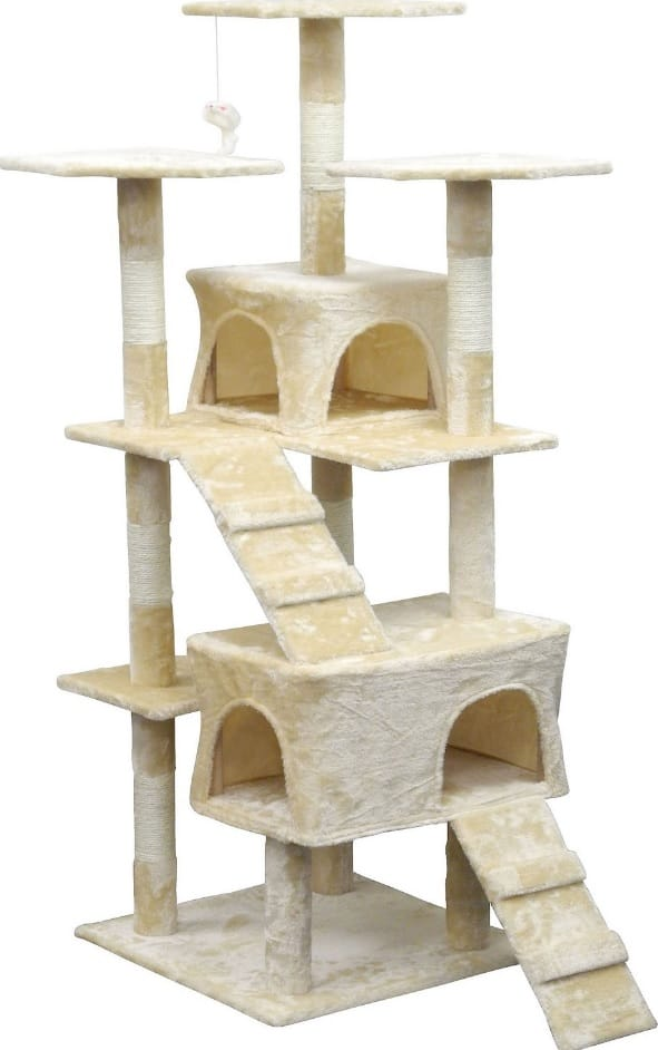 Best Cat Trees For Large Cats - Heavy Duty Big Sturdy Cat Towers [2020] 2