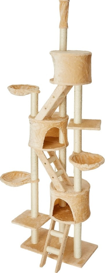 Best Cat Trees For Large Cats - Heavy Duty Big Sturdy Cat Towers [2020] 12