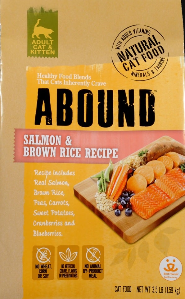 Abound Cat Food Review [year]: Naturally Complete Feline Nutrition 3