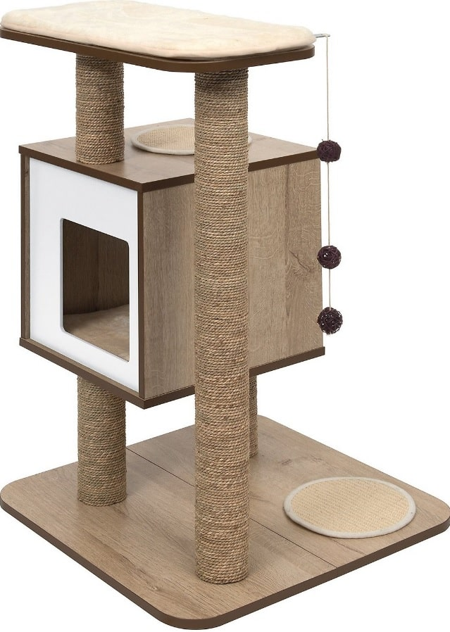 Best Cat Trees For Large Cats - Heavy Duty Big Sturdy Cat Towers [2020] 8