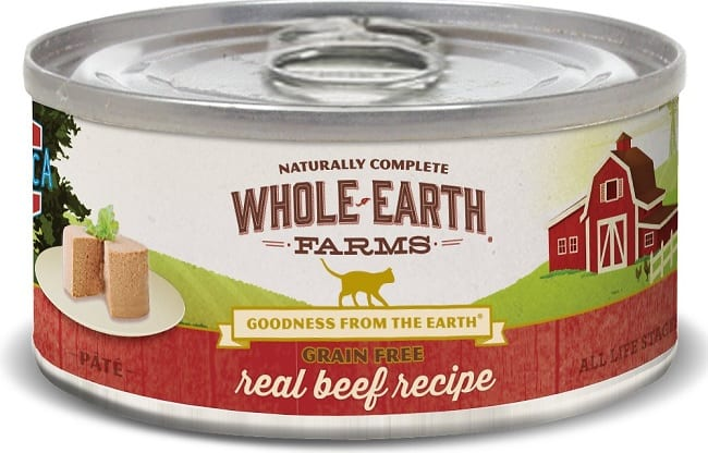 2020 Whole Earth Farms Cat Food Reviews: Affordable Goodness for Cats 6