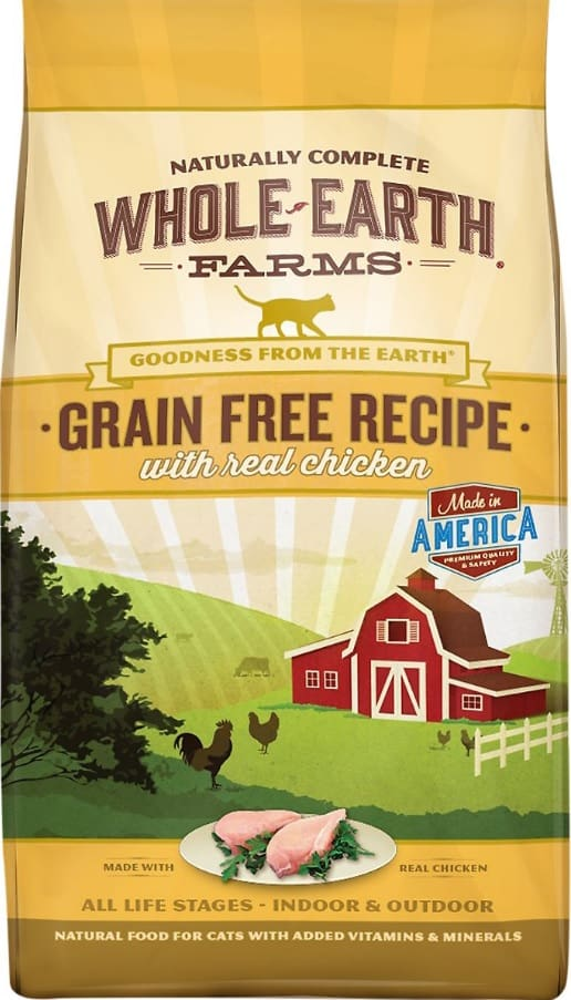 2020 Whole Earth Farms Cat Food Reviews: Affordable Goodness for Cats 4