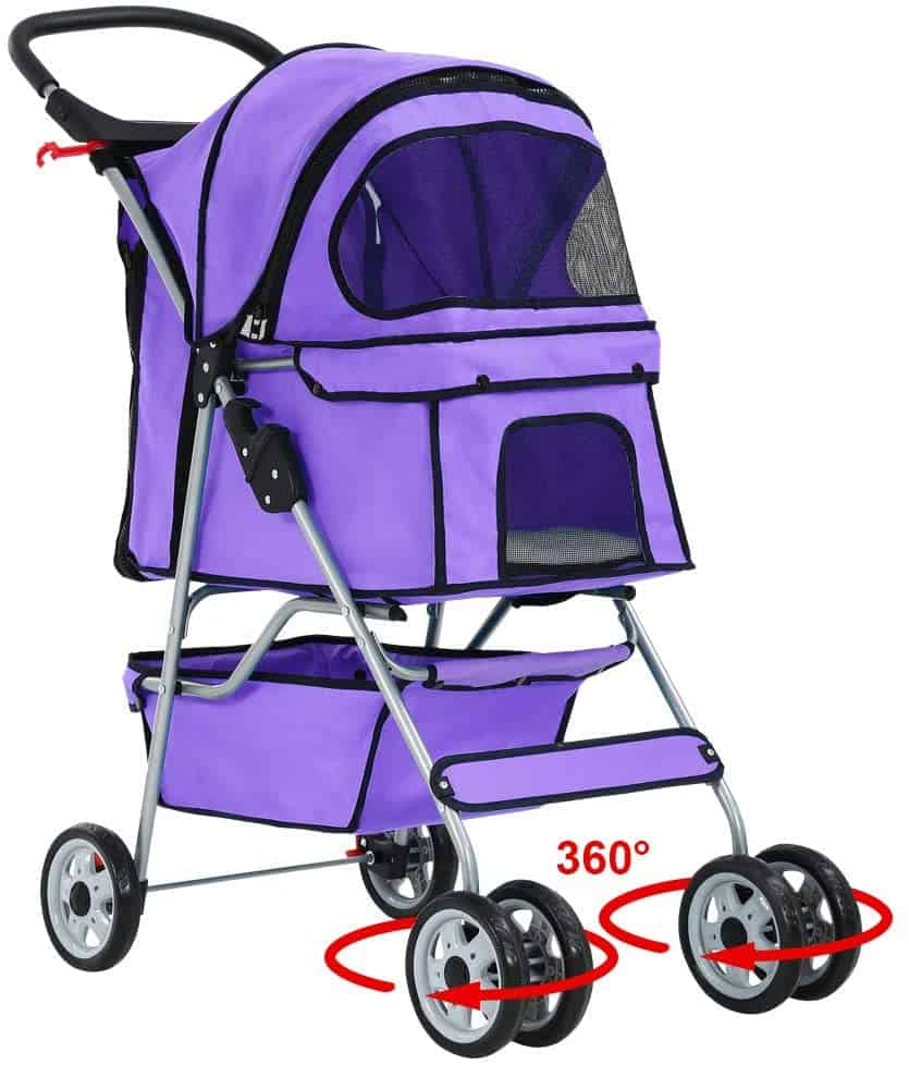 The Best Cat Stroller To Walk Your Cat in Comfort and Style 6