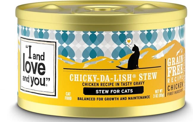 I and Love and You Cat Food Review 2020: Made with Love for Cats 7