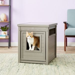 7 Best Litter Box Furniture: 2020 Buyer's Guide and Reviews 14
