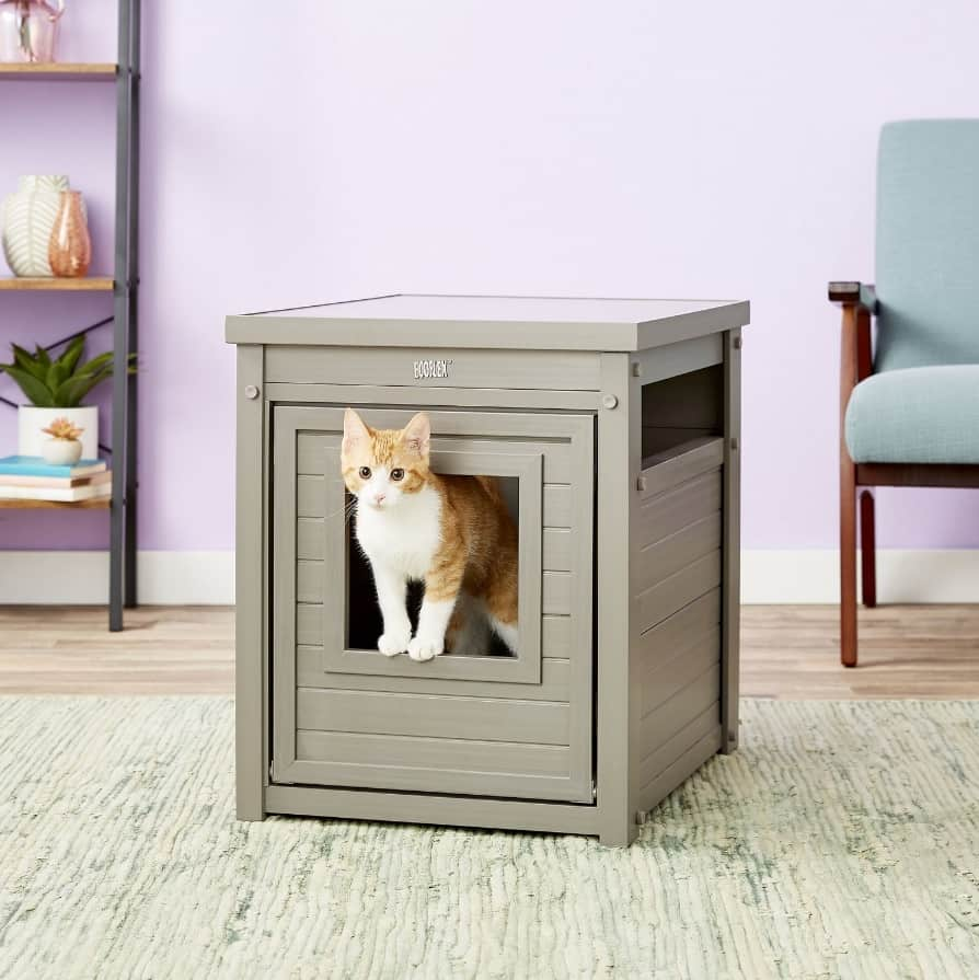 7 Best Litter Box Furniture: 2021 Buyer's Guide and Reviews 14