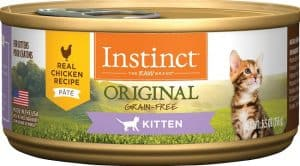 Original instinct cat food