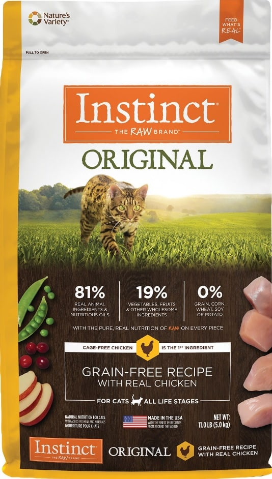 Instinct Cat Food Review 2021: A Naturally High Protein Diet 2