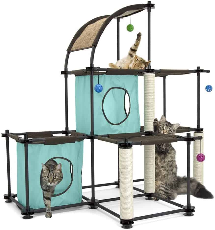 Best Cat Trees For Large Cats - Heavy Duty Big Sturdy Cat Towers [2020] 9