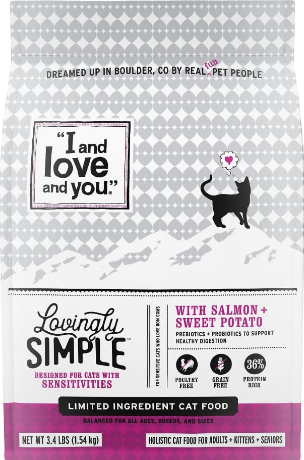 I and Love and You Cat Food Review 2020: Made with Love for Cats 4