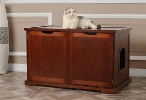 7 Best Litter Box Furniture: 2020 Buyer's Guide and Reviews 17