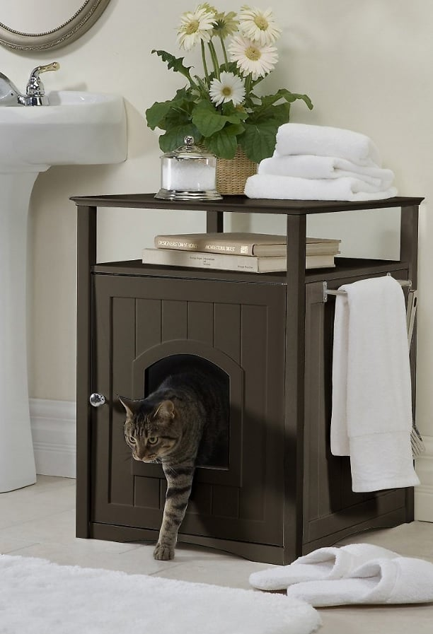 7 Best Litter Box Furniture: 2021 Buyer's Guide and Reviews 12