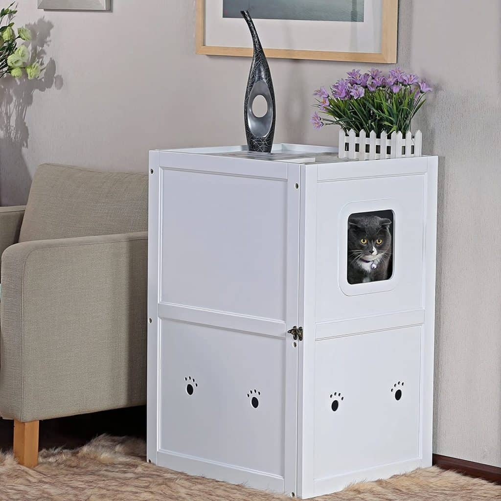 7 Best Litter Box Furniture: 2021 Buyer's Guide and Reviews 18