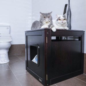 7 Best Litter Box Furniture: 2020 Buyer's Guide and Reviews 23