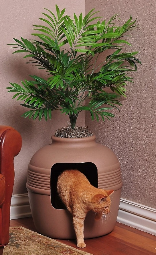 7 Best Litter Box Furniture: 2021 Buyer's Guide and Reviews 10