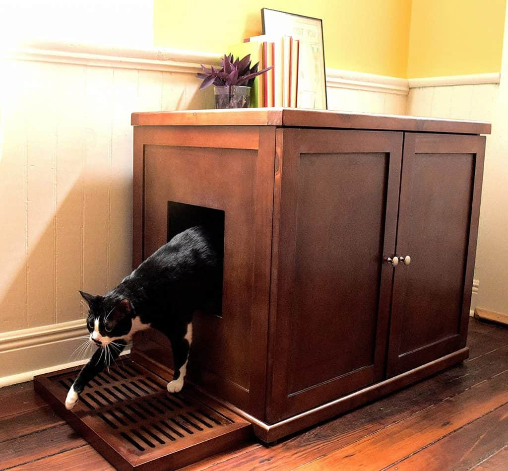 7 Best Litter Box Furniture: 2021 Buyer's Guide and Reviews 20