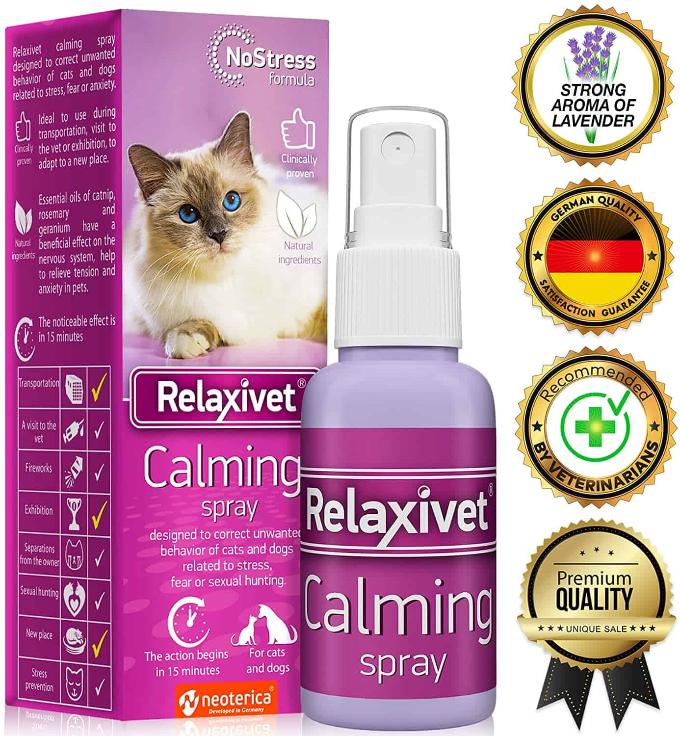 6 Best Cat Calming Spray in 2020: A Buyer's Guide and Review 2