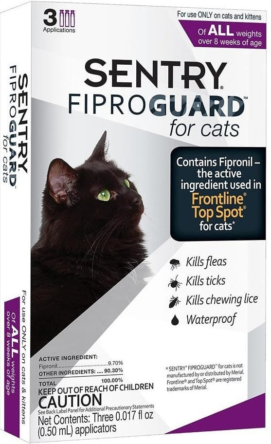 Best Flea Treatment for Cats 2021 - Spot On, Oral Pills, Collar And Spray Reviews 4