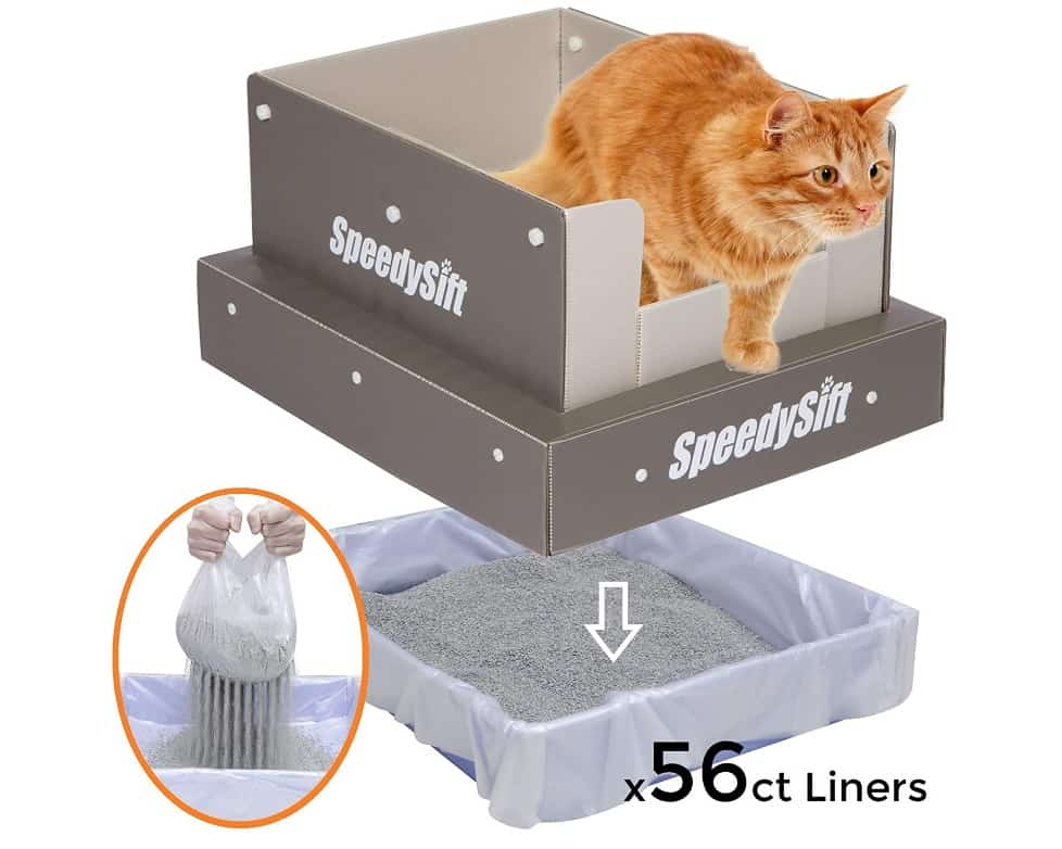2020 Buyer's Guide & Reviews for the Top 6 Best Sifting Litter Box 4