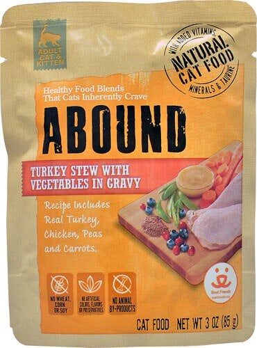 Abound Cat Food Review 2021: Naturally Complete Feline Nutrition 6