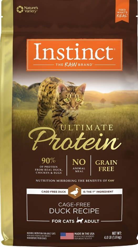 Instinct Cat Food Review 2021: A Naturally High Protein Diet 3