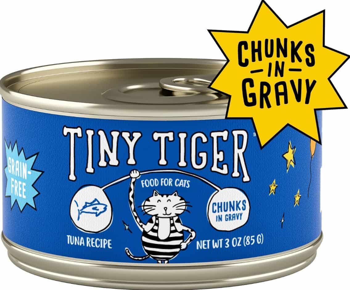 2020 Tiny Tiger Cat Food Review: Affordable High Protein Wet Food 5