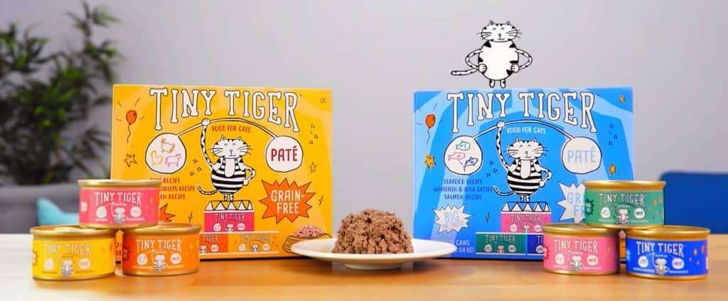 Tiny tiger cat food review