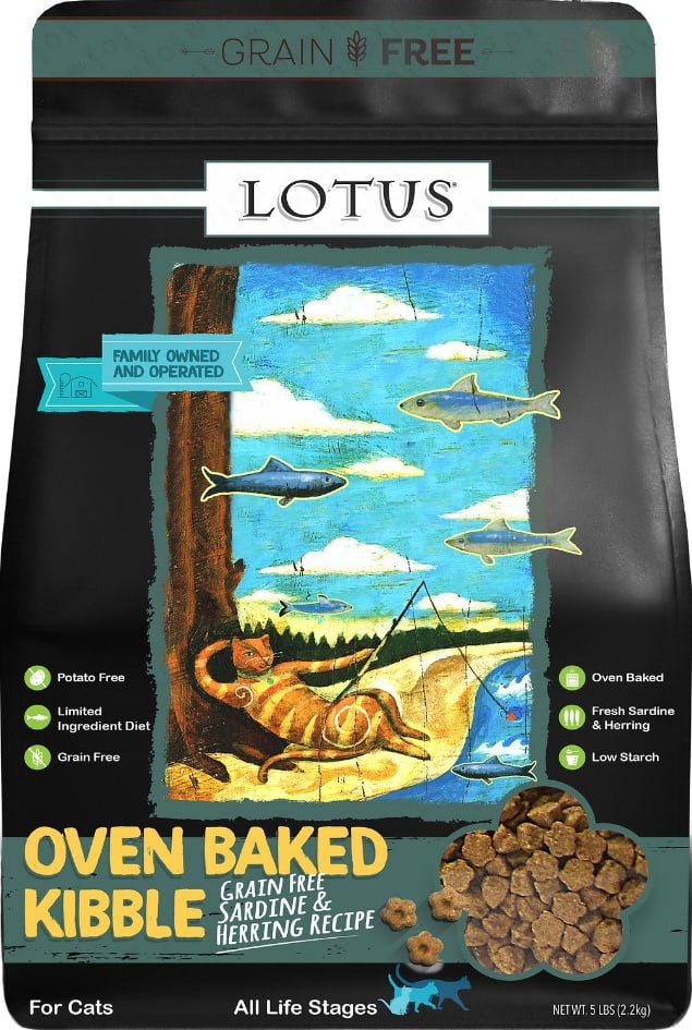 2020 Lotus Cat Food Review: Oven-baked & Hand Packed Goodness for Cats 3