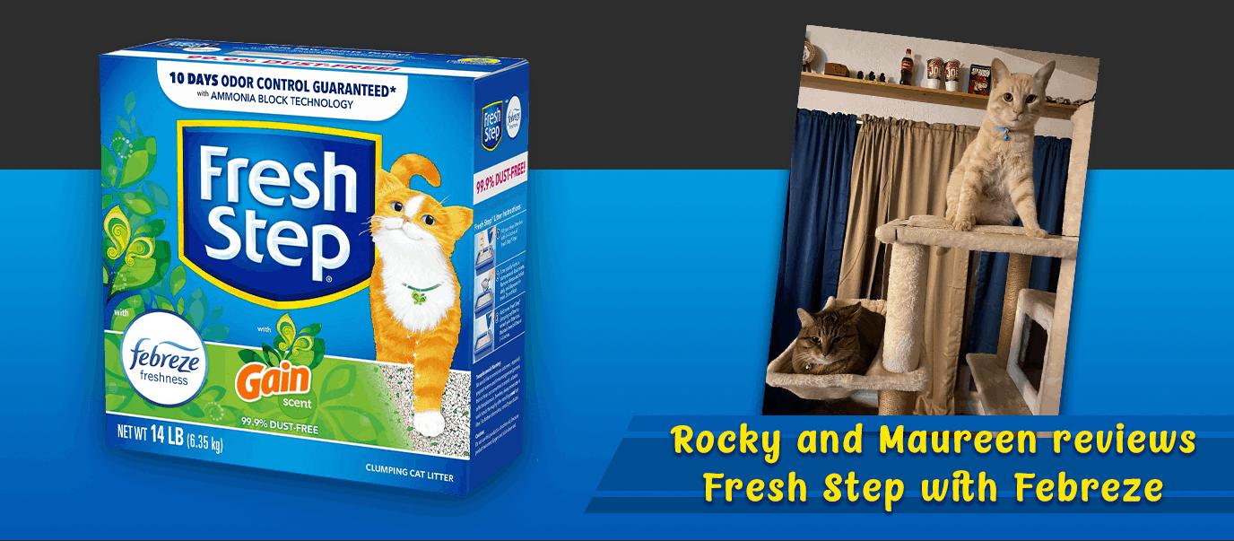 Fresh Step cat litter review