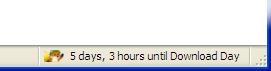Download Day Status bar