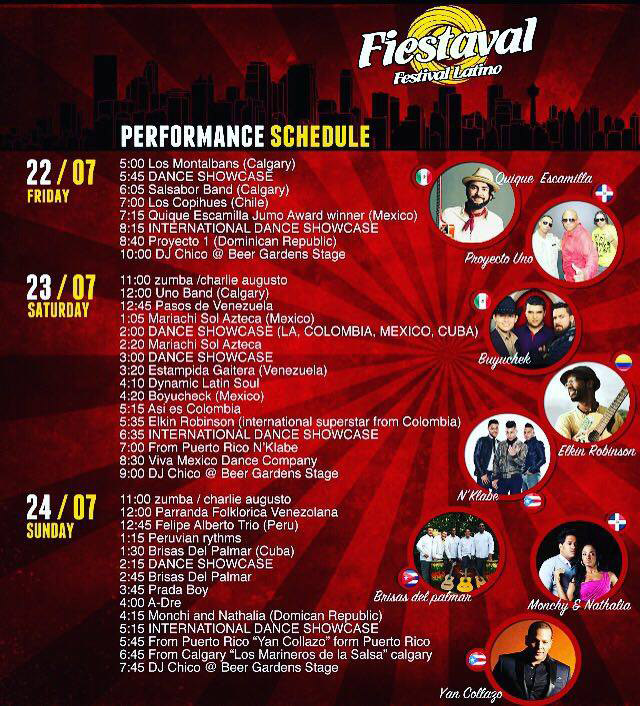Fiestaval Latino - July 22 - 24 2016