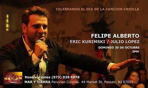 Felipe Alberto - Concert in Passaic, New Jersey