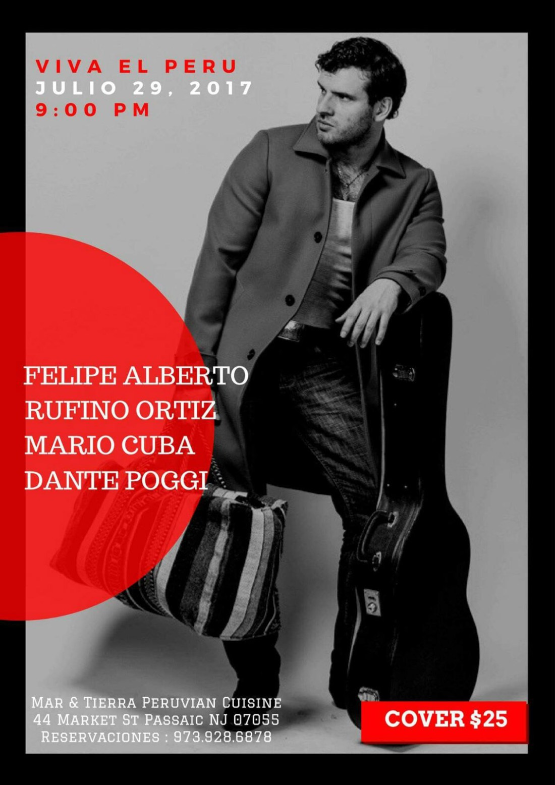 Felipe Alberto - Fiestas Patrias New Jersey