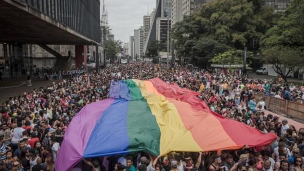 Parada gay 2015 19 edição Avener PradoFolhapress