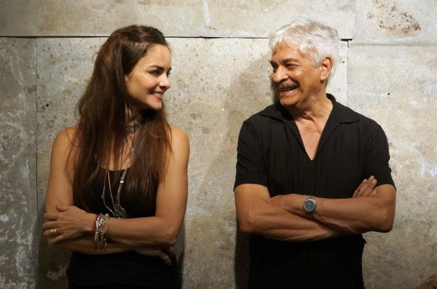 Rogério Gomes e Vera Gamma. Foto por Rafael Almeida.