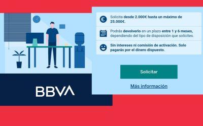 Línea de financiación Click&Pay de BBVA